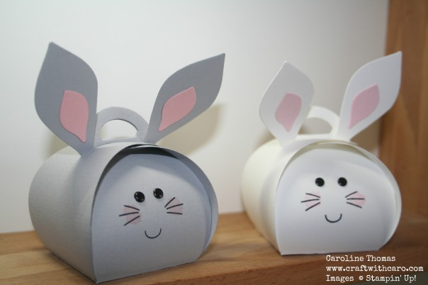 Easter Bunnies, Curvy giftbox, Playful Pals