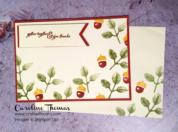 Painted Harvest, Stampin' Creative, Thankful, Grateful