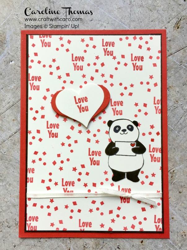 Party Pandas Valentine's